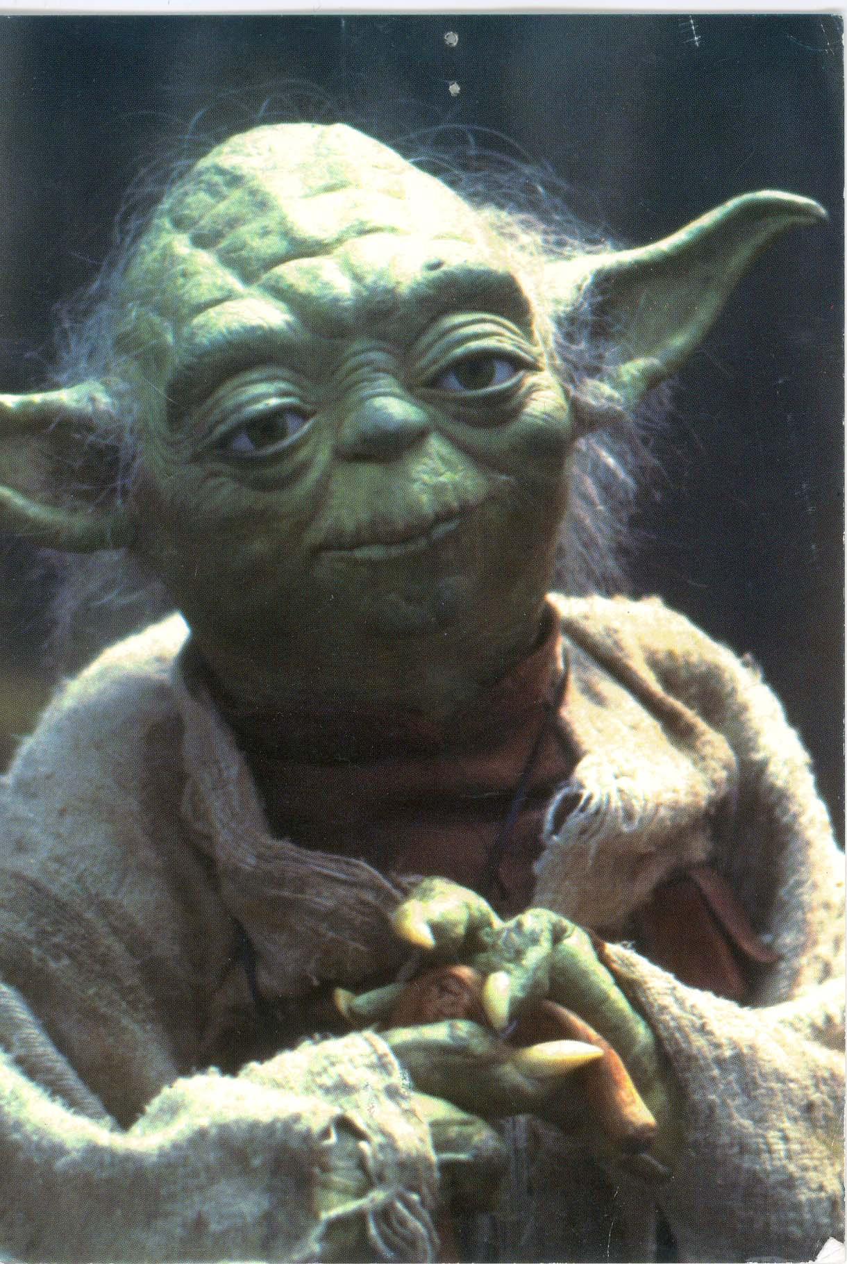Yoda, looking good for 900