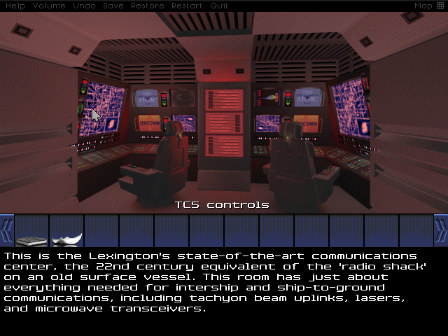 Deck 2 also has the ship's Communications Center, which I'll no doubt be needing once I get the main computer back online. Then again, this is supposed to be a classified mission...