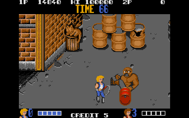 Abobo's African-American cousin is a little more active, though just as worried. It's like none of this really matters, deep down. Also, that cat is chilling so hard it's absorbing the light around it.