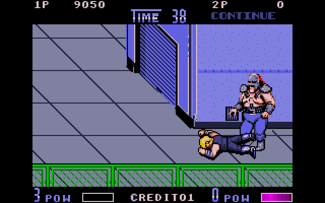 This game also introduced the Lee brothers falling to the ground dramatically whenever their health bars ran out. They seem really bummed out about it too. Poor guys.