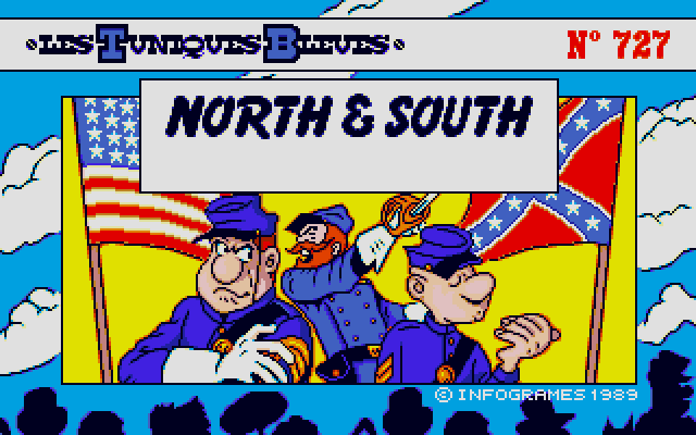 Welcome to North & South! These two at the front are the main characters of the comic. I think the dude at the back is meant to be Ulysses S Grant, but don't ask me.