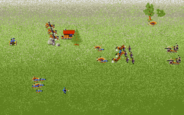 In spite of all this, battles are frantic and over fairly quickly if the player can't quickly switch between units when necessary and full use of what units they have. A system like this also makes it possible for a smaller group to outmaneuver a much larger opposing force, as there's less juggling to be concerned with, which can lead to all kinds of upsets.