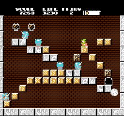 A typical Solomon's Key level.