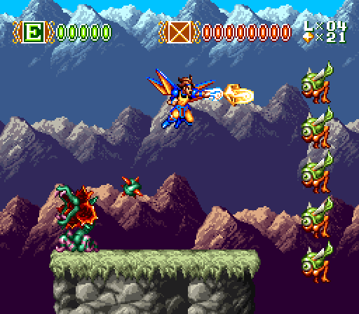 This is a level you fly through, but isn't technically one of the flying levels. They're totally different, honest.