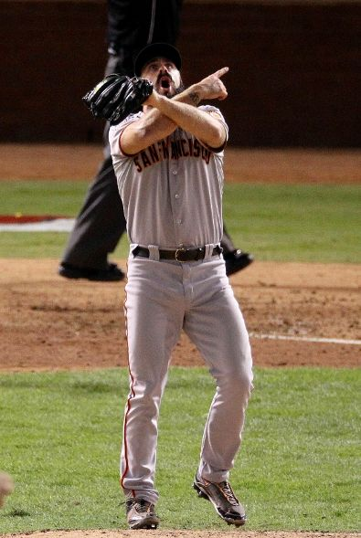 Wilson in the World Series Game 5.