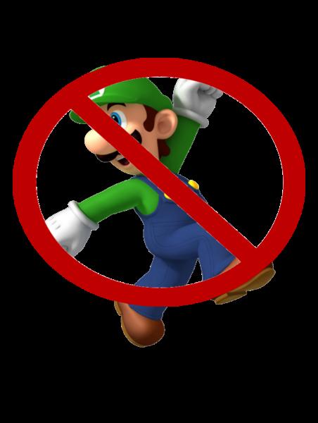 Say no to Luigi, kids!