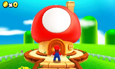 Swing by Toad's place to grab some power-ups and listen to that