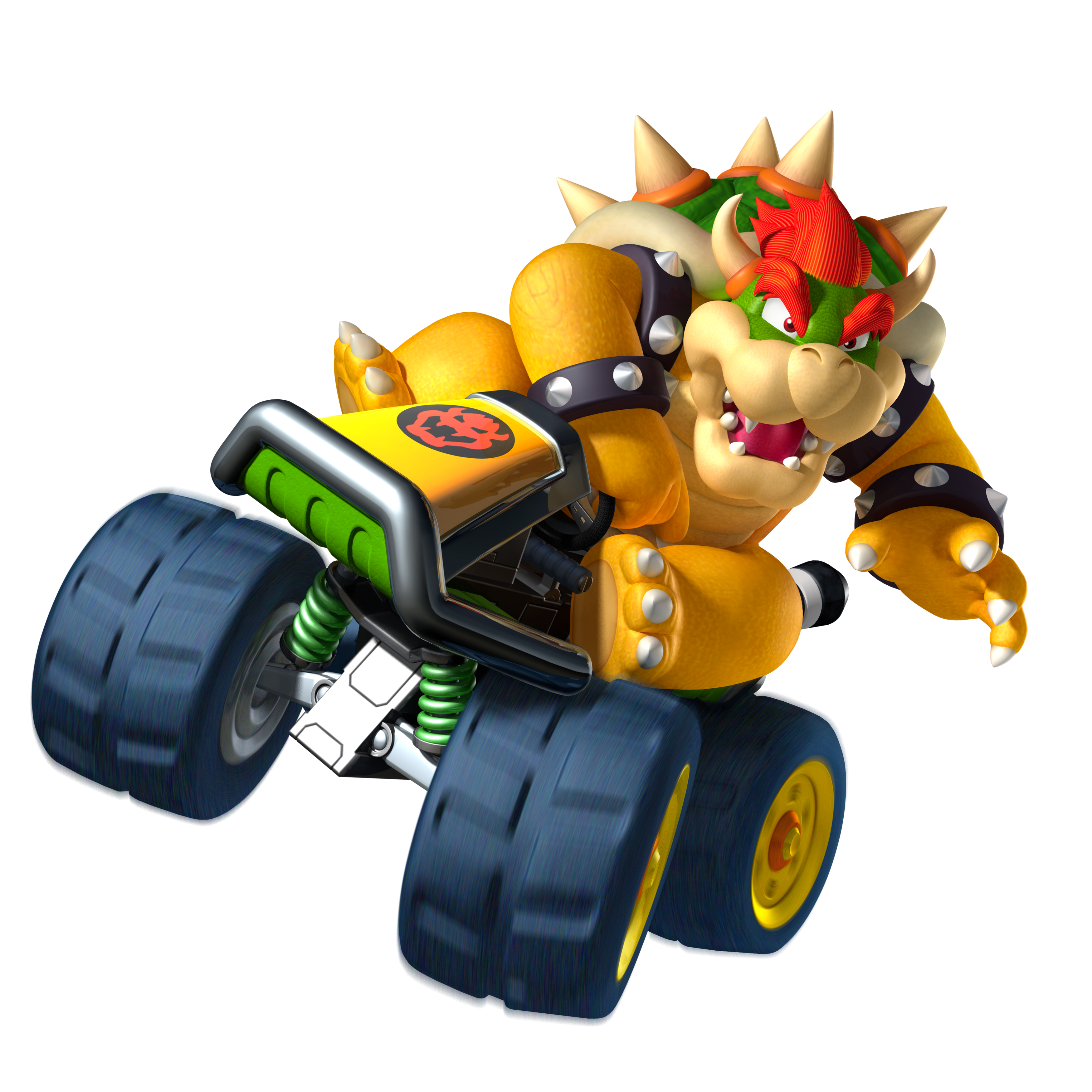 Bowser as seen in Mario Kart 7.