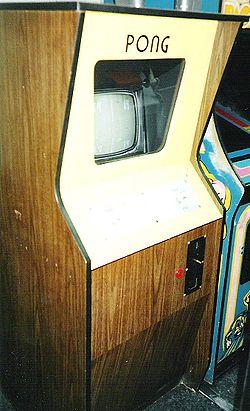 An Original Atari Pong Cabinet