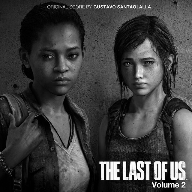 The Front Cover of The Last of Us Official Soundtrack Volume 2.