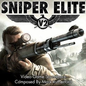 The Front Cover of the Official Sniper Elite V2 Soundtrack.