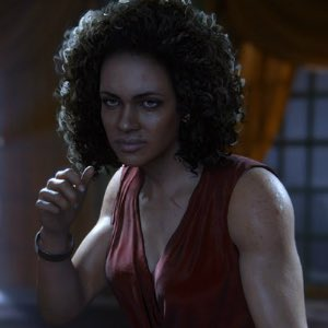 Nadine Ross from Uncharted 4.