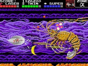 Darius Alpha, one of many ports for the original game.