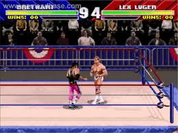 Bret Hart vs Lex Luger in WWF WrestleMania: The Arcade Game