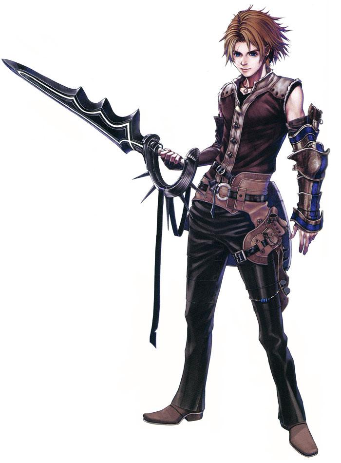 Nowe, main protagonist of Drakengard 2.