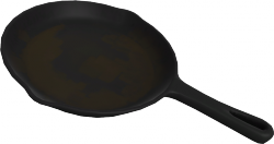 The skillet.