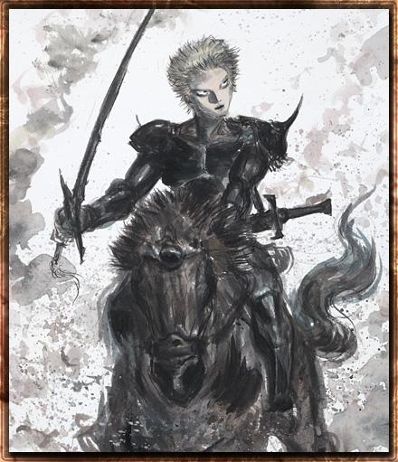 Odin by Amano.