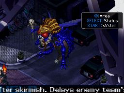 Devil Survivor 2's boss fight.