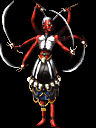 Kali, as her design first appeared in Soul Hackers.