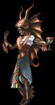 Baal as he appears in Soul Hackers.