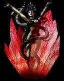 Inaruna's first form in Devil Summoner.