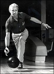 Dick Weber. One of the most famous bowlers. He was one of the original members of the PBA.