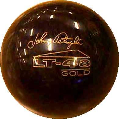 A famous rubber bowling ball. Made by Brunswick.