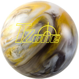 A modern plastic ball by Brunswick.