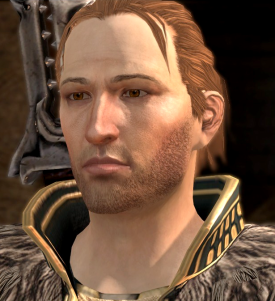I tried to go for fenris but his 'romance' thing got fucked all to hell.. so Ander's two times in a row!