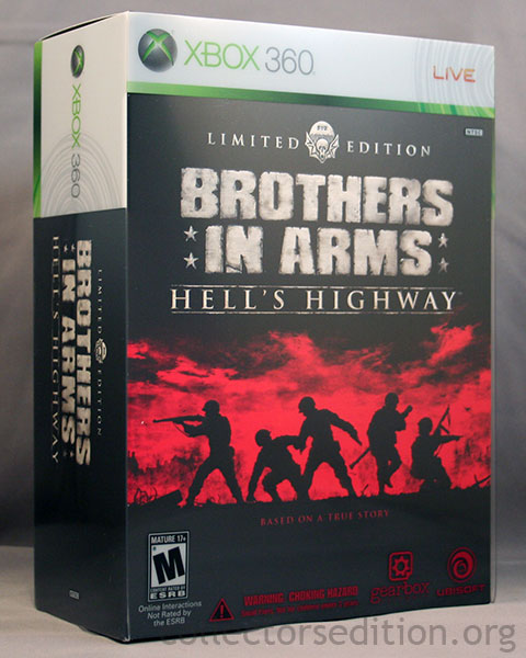 Limited Edition copy of the game, for the 360