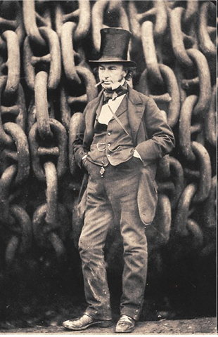 1806-1859 Look at the SIZE OF THOSE GODDAMN CHAINS.
