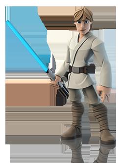 Luke Skywalker in Disney Infinity 3.0
