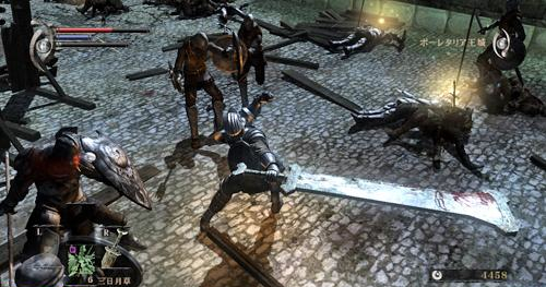 Demon's Souls has a LARGE variety of weapons.