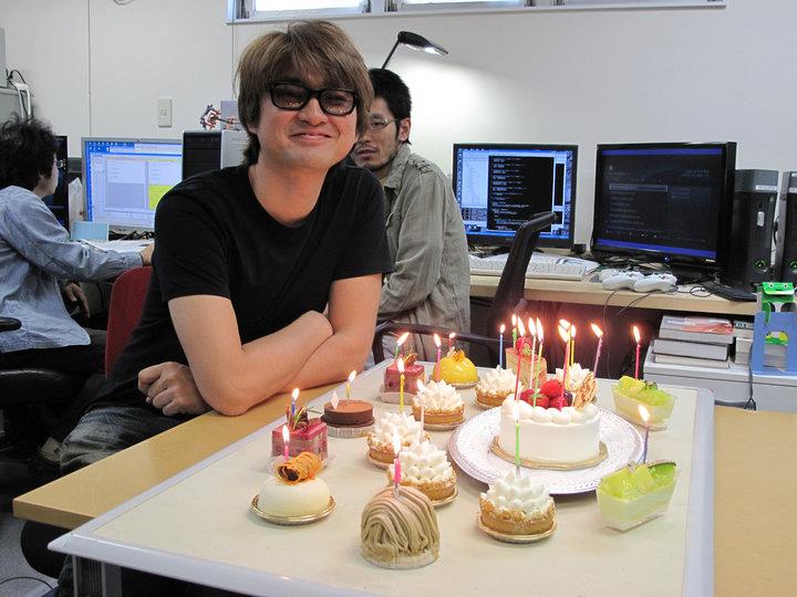Tetsuya Mizuguchi.  Cake.