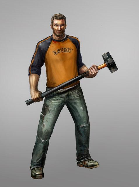 Chuck Greene, the game's main protagonist.