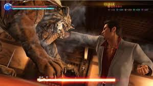 Yup.. you fight a Tiger in this game
