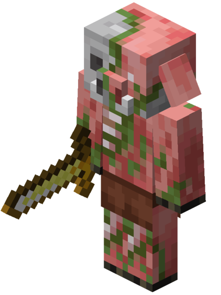 A zombified piglin