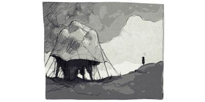 Early concept art for Limbo.