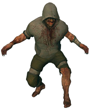 The Hunter as he appears in L4D2.