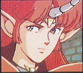 A cutscene with Cham.