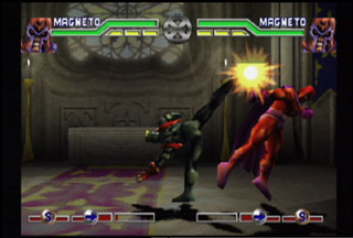 The Mutant Academy franchise continued the trend of X-Men fighting games.