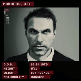 Vladimir Makarov; primary antagonist.