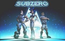 Team Subzero. Left to Right: Half Pint, Lola, and Kiril.