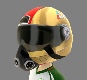 Gold Flight Helmet avatar award