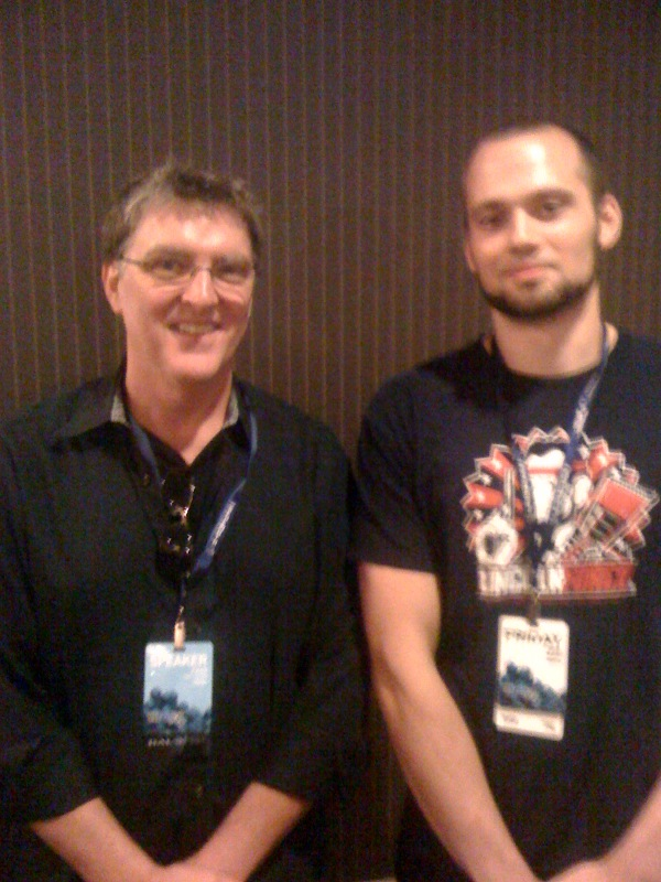 Me and Marty O'Donnell