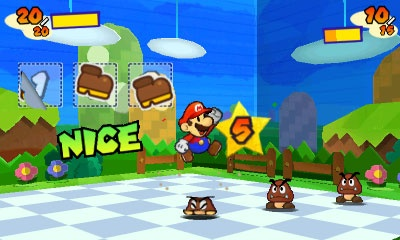 Paper Mario, aka the game with visuals that were born to exist on 3DS, is still alive and kicking.