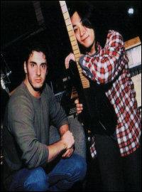 Jun as the guitarist for Crush 40.