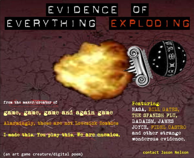 the evidence of everything exploding