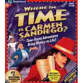 Damnit Carmen!  Time travel? How're we supposed to compete with that?