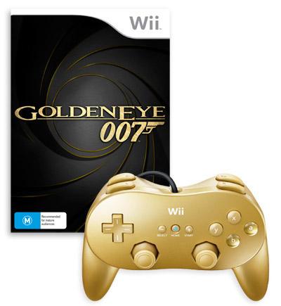 Gold Classic Controller Pro Bundle